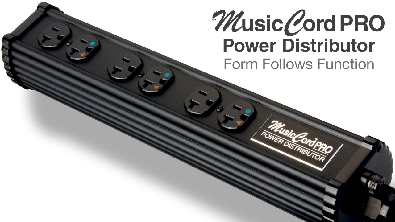 MusicCord-PRO Audio Power Distributor | Essential Sound Products