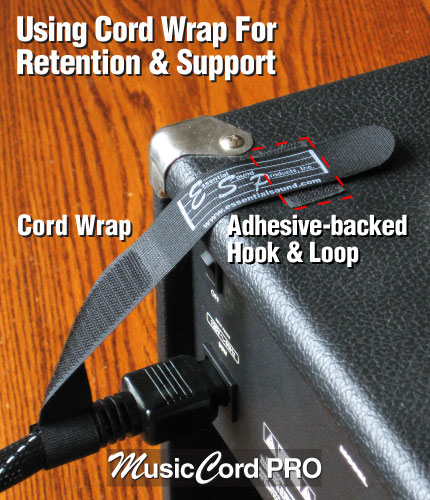 MusicCord Power Cord Retention System - Essential Sound Products