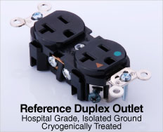 Reference Duplex Outlet