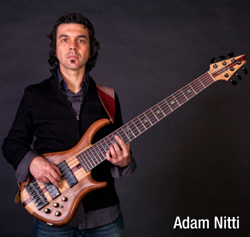 Bassist Adam Nitti endorses MusicCord power cords - Essential Sound Products