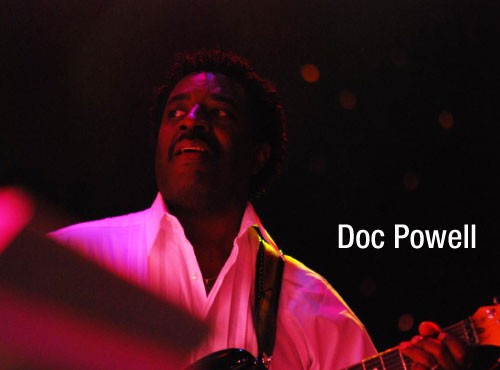 Guitarist Doc Powell endorses MusicCord power cords - Essential Sound Products