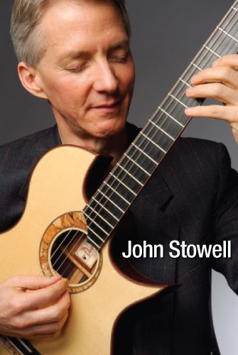 Acoustic Guitarist John Stowell endorses MusicCord power cords - Essential Sound Products