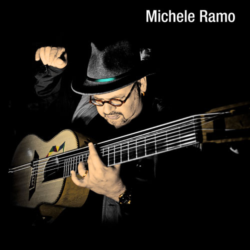Acoustic Guitarist Michele Ramo endorses MusicCord power cords - Essential Sound Products