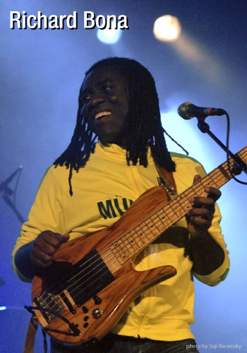 Bassist Richard Bona endorses MusicCord power cords comments they allow all frequencies to have the same presence - Essential Sound Products