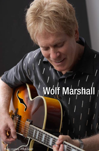 Jazz Guitarist Wolf Marshall testimonial comments MusicCord power cords improve guitar amps sonic vitality, clarity and efficiency - Essential Sound Products