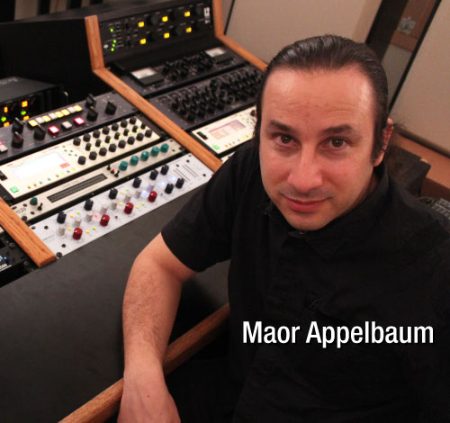 Mastering Engineer Maor Appelbaum Endorses MusicCord Power Cords - Essential Sound Products