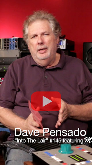Dave Pensado Into The Lair #145 MusicCord Power Cord Video - Essential Sound Products
