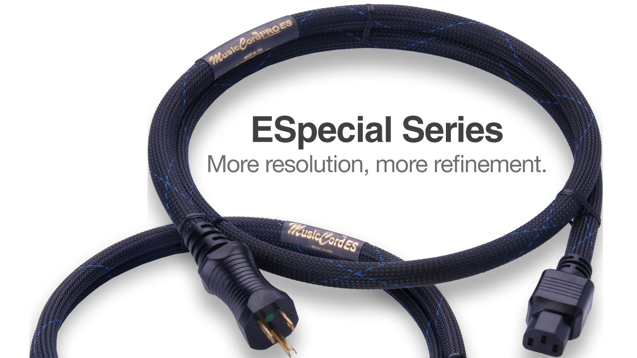 MusicCord Professional Series Audio Power Cords | Essential Sound Products