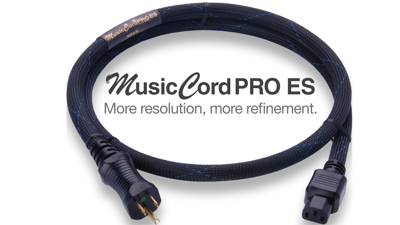 MusicCord-PRO ES Power Cord | Essential Sound Products
