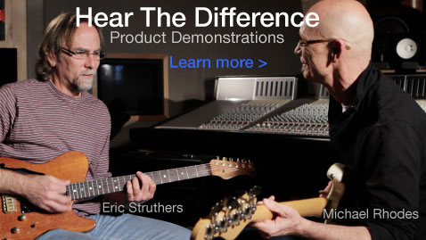 Link To MusicCord Power Cord Audio/Video Demonstrations With Guitar and Bass Amplifiers.  Hear The Difference.