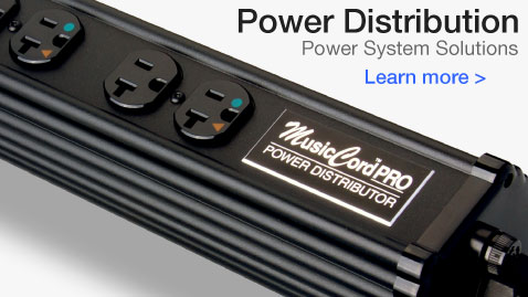 Essential Sound Products MusicCord Essence Reference Power Distribution Components - Form Follows Function