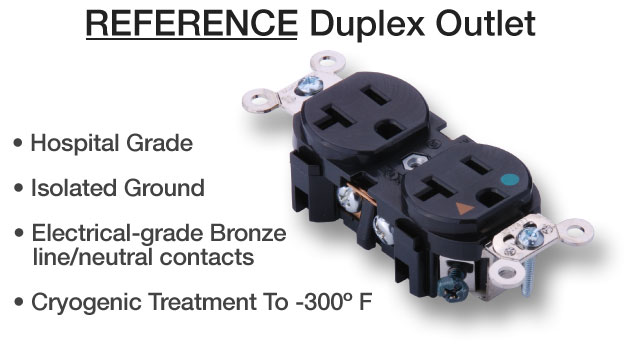 Reference Duplex Outlet | Essential Sound Products