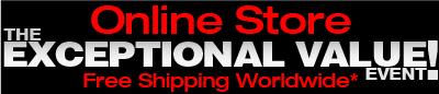 Exceptional Value Event - Free Shipping Worldwide - Essential Sound Products Online Store